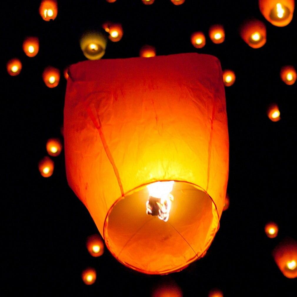 1 шт. Diy китайский Kongming бумажный Небесный летающий фонарь желаний лампа проектирование для приготовления пищи на воздухе на день рождения ве...