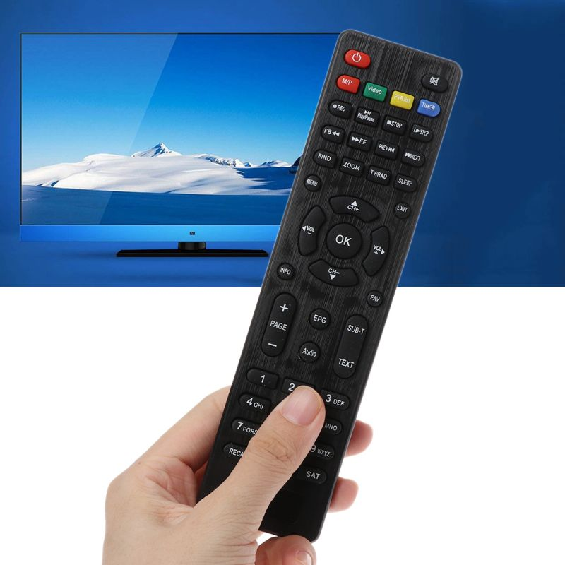 Remote Control Contorller Replacement for Freesat V7 HD/V7 MAX/V7 Combo TV Box Set Top Box Satellite Receiver Accessories AXYB