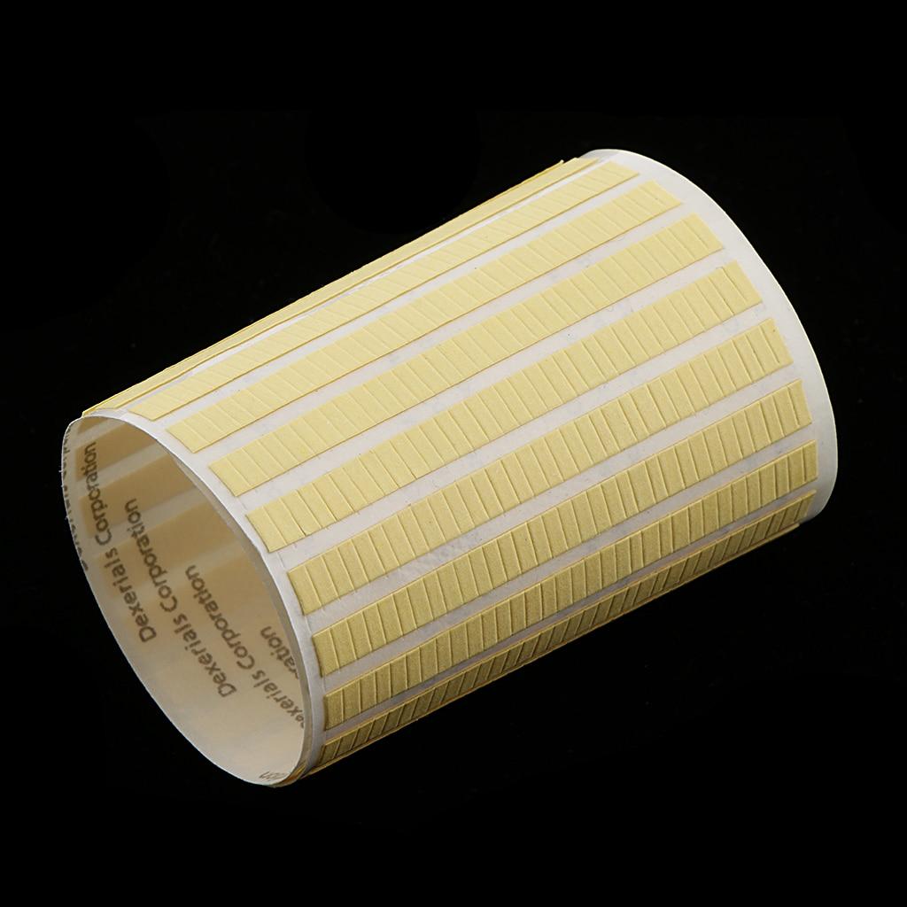 22.5x7mm Sticky Label Self Adhesive Sticker Plain Blank Address Label Yellow