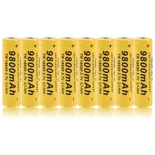 Li-ion Rechargeable Battery Cell 3.7V 9800MAH Replacement Battery For Torch Flashlight 12pcs 14500 900mah 3 7v li ion rechargeable batteries aa battery lithium li ion cell for led flashlight headlamps torch mouse