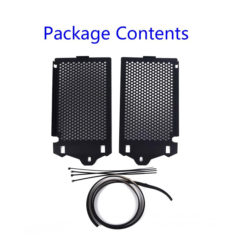 Koruyucu 2 adet motosiklet siyah radyatör ızgara kapağı için Rust Proof BMW R1200GS LC/macera|Kapaklar ve Süs Kalıpları|Otomobiller ve Motosikletler - title=