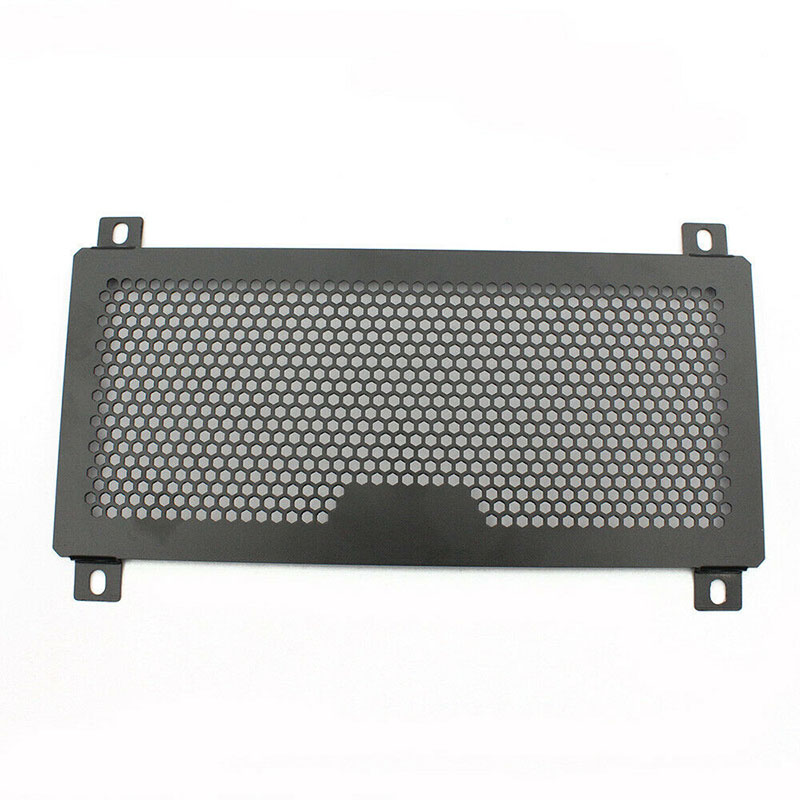 Aluminum Steel Radiator Grille Parts Black Accessories Motorcycle Guard Protective Cover Replacement Practical