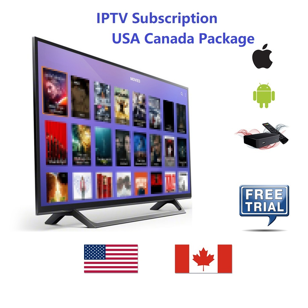 USA Canada IPTV Subscription 12 Months Sport Family Kids Premium Local News PPV Canada France
