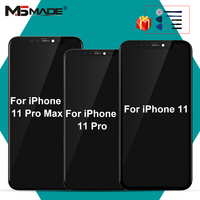 Original For iPhone 11 LCD 11 Pro MAX LCD Touch Screen Digitizer Replacement Parts For iPhone 11 Pro MAX Display No Dead Pixel