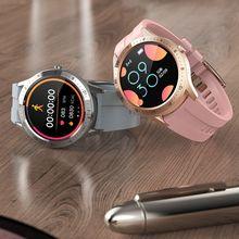 SENBONONew ساعة ذكية تعمل باللمس للرجال ، ساعة ذكية رياضية S21 مع التحكم في الصور ، معلومات الطقس لنظامي Android