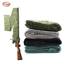 Tactical Airsoft 54 Knit Gun Sock Polyester Rifle Fishing Rod Protection Holster Cover Storage Sleeve Hunting Shooting