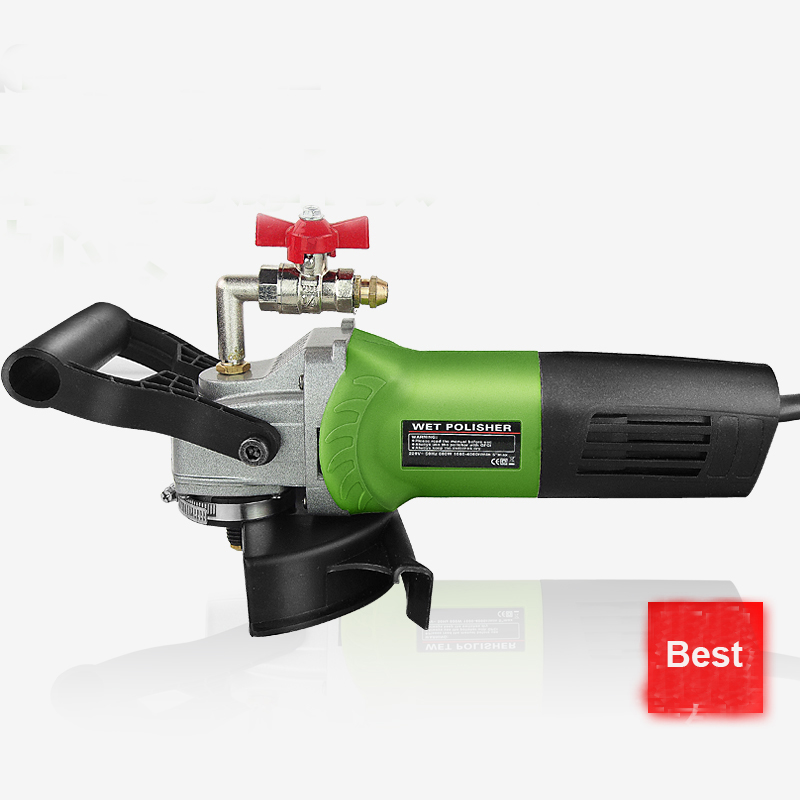 220v Water Injection Polisher Polishing Machine For Granite Marble