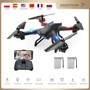 SNAPTAIN SE5CQ Drone WiFi FPV 720P HD drones camera Voice control Gravity Sensor Function RTF drone profissional RC dron 1