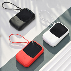Image 5 - Baseus 10000mah batterie dalimentation 15W chargeur de téléphone 4 sortie 2 entrée affichage numérique batterie Powerbank chargeur Portable pour iP Samsung
