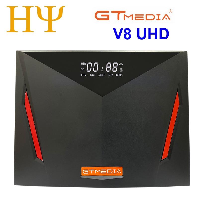 Спутниковый ресивер Gtmedia V8 UHD H.265 DVB-S/S2/S2X + T/T2/Cable/ATSC-C/ISDBT better V8X V7S PLUS v8 nova v8 pro freesat V7 HD