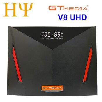 Gtmedia V8 Uhd Dvb S2 衛星放送受信機組み込みwifiサポートH.265 DDVB-S/S2/S2X + T/T2/ケーブル/ATSC-C/isdbtより良いV8X V8 POR2
