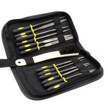 Tools-Set File Hand-File-Set Grinding-Tool-Kit Wood Mini Rasp 15pcs