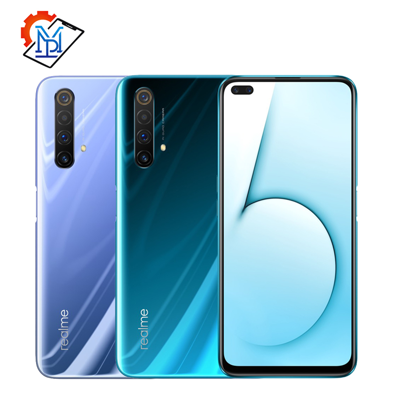 "In Stock Realme X50 5G Mobile Phone 6.57"" 8GB+128GB Snapdragon 765G Android 10 Camera 64MP Flash Charge 4200mAh NFC Smartphone"