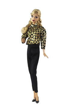 Party Fashion Outfit Set for Barbie 11 Inches  BJD FR SD Doll Clothes Dollhouse Roll Play Accessories nk one set doll fashion hi fi tv theatre set dollhouse furniture decor accessories for barbie doll for monster high doll