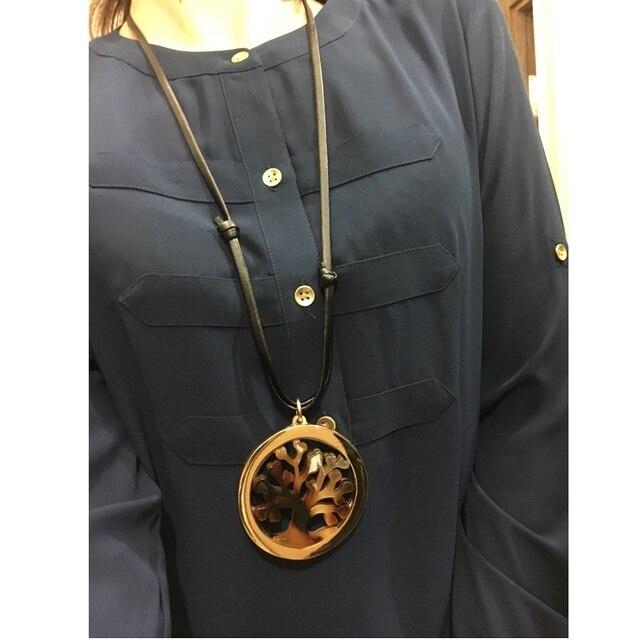 женское ожерелье макси collares массивное ожерелье из акрила фотография