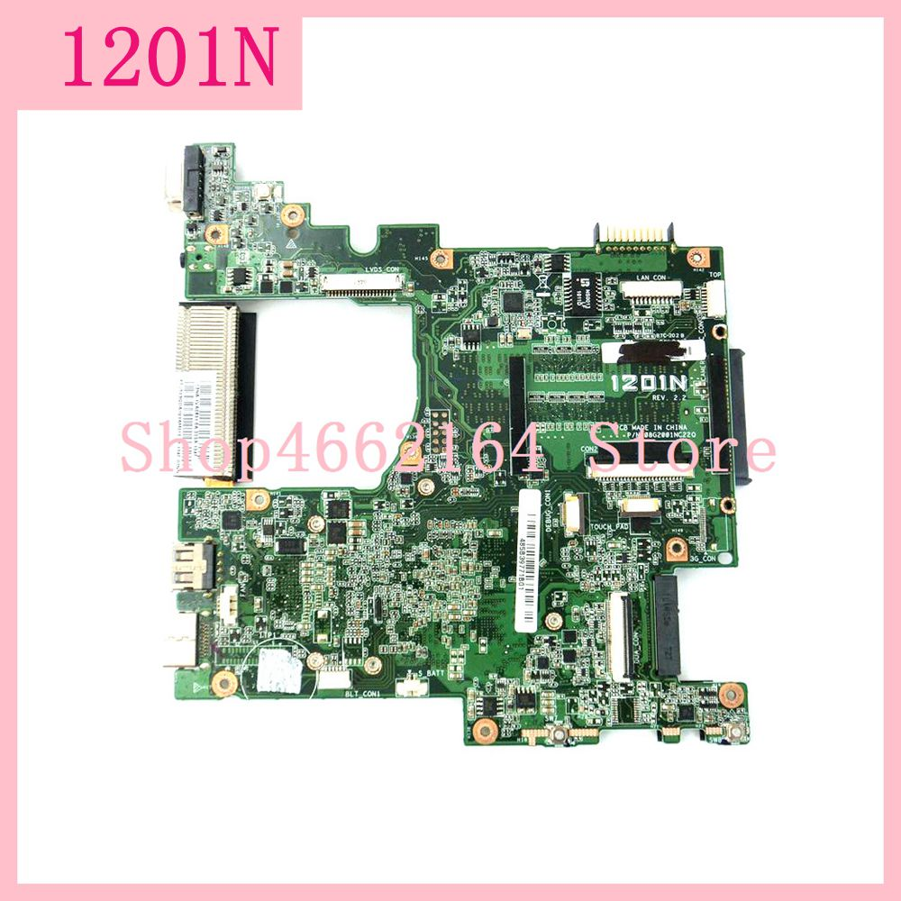 1201N REV:2.2 Motherboard For ASUS Eee PC 1201N Laptop Motherboard 1201N Mainboard Tested Working Fully Tested Free Shipping
