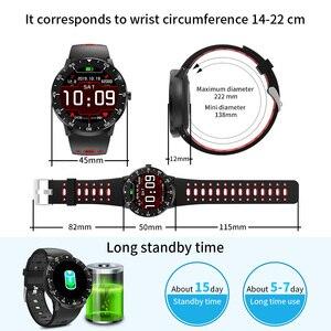 Image 5 - HopoFit Z05 חכם שעון גברים מלא מגע גשש כושר קצב לב צג צמיד עמיד למים IP67 גברים נשים אנדרואיד iOS