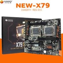 Huananzhi HUANANZHI X79 듀얼 CPU LGA2011 LGA 2011 마더 보드, 듀얼 프로세서 DDR3Suitable 서버 CPU 및 서버 메모리