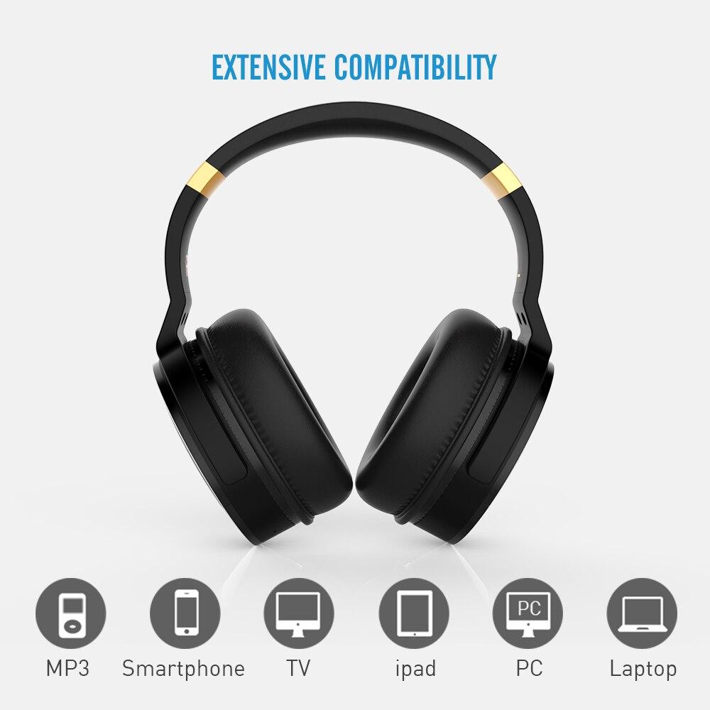 COWIN E8A ANC наушники с микрофоном для компьютера, телефона, путешествий, работы, активного шумоподавления, беспроводные Bluetooth Накладные наушник... - 4