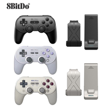 цена на 8BitDo SN30 PRO+ Wireless Bluetooth Gamepad USB Game Switch Controller Joystick For Windows Android macOS For Nintend Switch