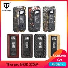 Original Think Vape Thor pro MOD 220w Dual 18650 Electronic Cigarette