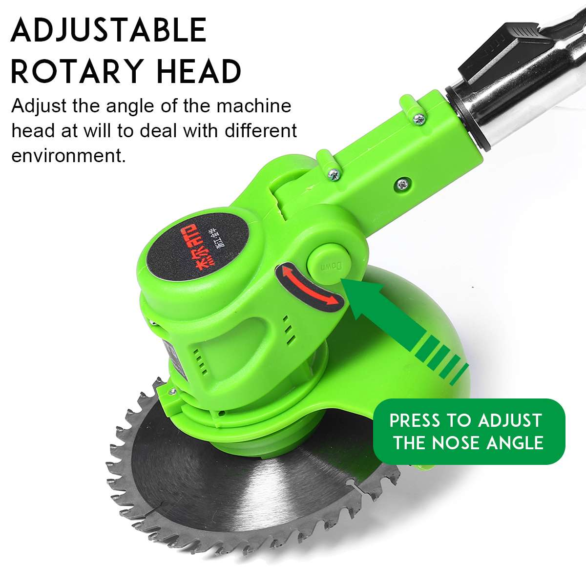 Grass Disassembly Kit Garden Lawnmower With String Eater Cordless Tool Power Grass Charger 9000RPM Battery 24V Trimmer Electric