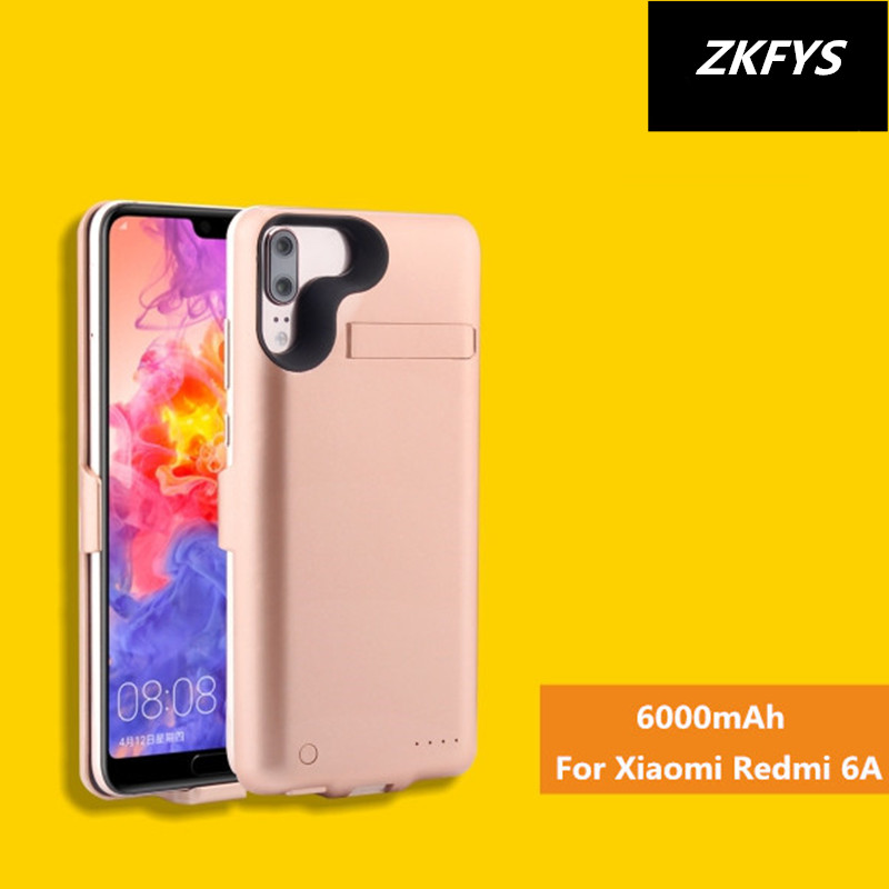 <font><b>Power</b></font> Case <font><b>6000mAh</b></font> Portable High Quality Charger Battery Case For <font><b>Xiaomi</b></font> Redmi 6A External <font><b>Power</b></font> <font><b>Bank</b></font> Battery Charging Case image