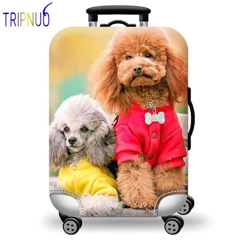 TRIPNUO Cartoon 3D Stitch Luggage Case Protective Cover Cute Animal Elastic Suitcase Cover For 18-32Inch XL Travel Accessorie