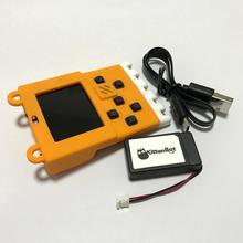 Kittenbot Meowbit contient une batterie et un câble USB, prend en charge larcade Makecode et Python, les blocs de construction de programmation graphique