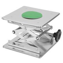 Нержавеющая сталь маршрутизатор подъемный стол практичный маховик Деревообработка скамейки ржавчины платформа гравировальный подъемный стенд
