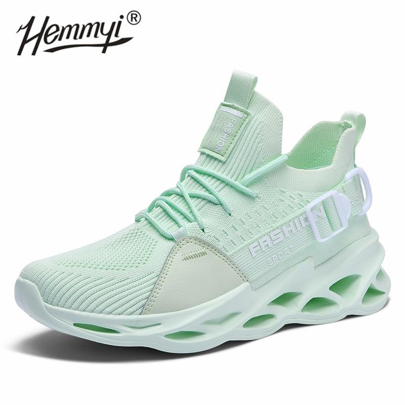 Hot Women Sneakers Summer Mesh Breathable Light Street Fashion Couple Shoes Woman Casual Unisex Big Size 36-46 Tenis Feminino