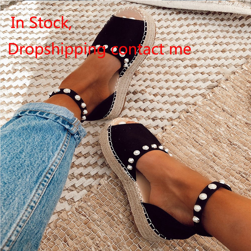 Women Sandals High Wedges Heels Height Increasing Platform Buckle Strap Ladies Espadrilles Shoes Zapatos Mujer drop shipping