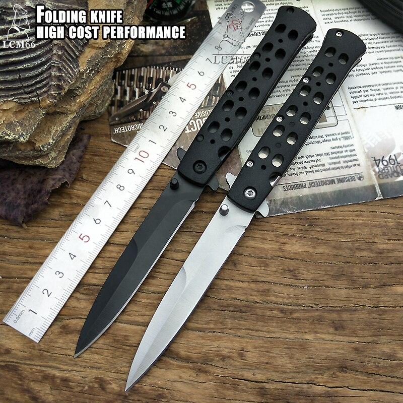 Couteau pliant tactique couteau de poche de camping couteaux tactiques survie en plein air porter très pointu outil froid couteau à fruits en acier 26s