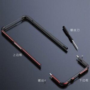 Image 2 - Oppo reno 2 케이스 금속 프레임 더블 컬러 알루미늄 범퍼 보호 커버 oppo reno 2 reno2 전화 케이스