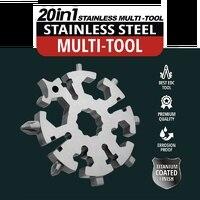 Destornillador de herramientas de mano, llave multifuncional, combinación multifuncional, herramientas portátiles para exteriores