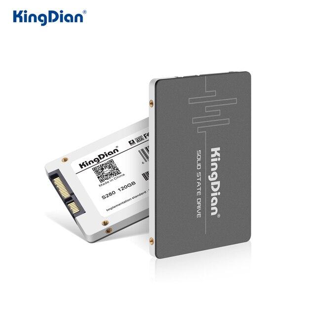 KingDian SSD 1tb 128gb 256gb 512gb SSD 2.5 SATA SATA iii 2TB HDD wewnętrzny dysk twardy SSD dysku dla Laptop PC