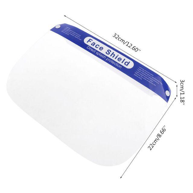 Protective Adjustable Face Masks Anti-Saliva Dust-Proof Full Face Cover Mask Visor Shield 4