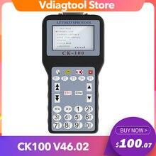 Nuevo diseño ck100 programador clave V46.02 SBB transpondedor clave de última generación ck100 clave pro Multi-Marcas lenguaje de coche