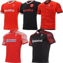 2021 galês casa longe rugby sevens roupas de treinamento masculino camiseta país de gales esporte jérsei S-5XL