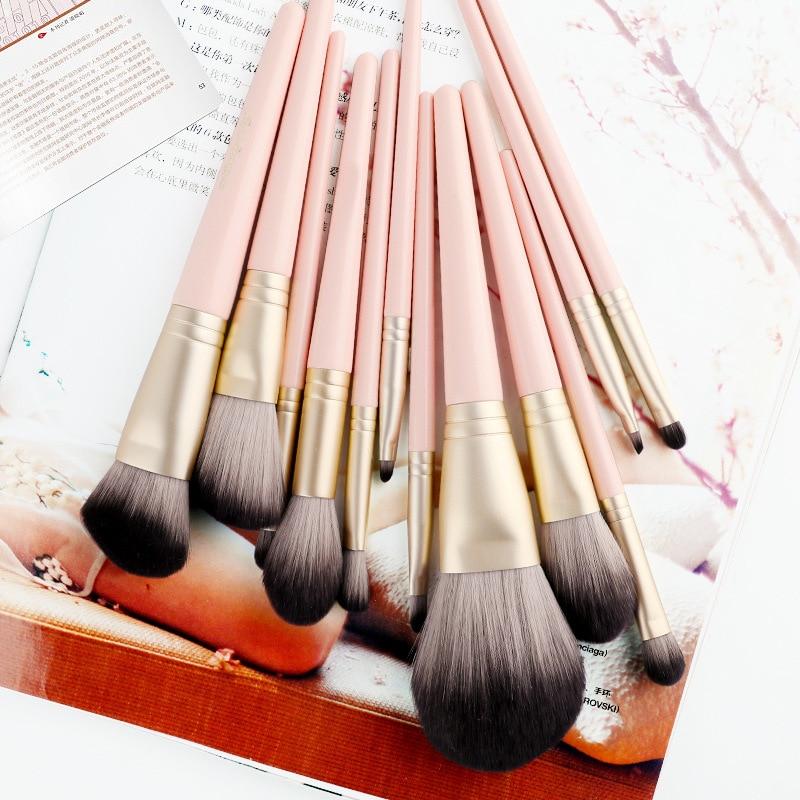 sintetica escova de cosmeticos terno punho madeira 05