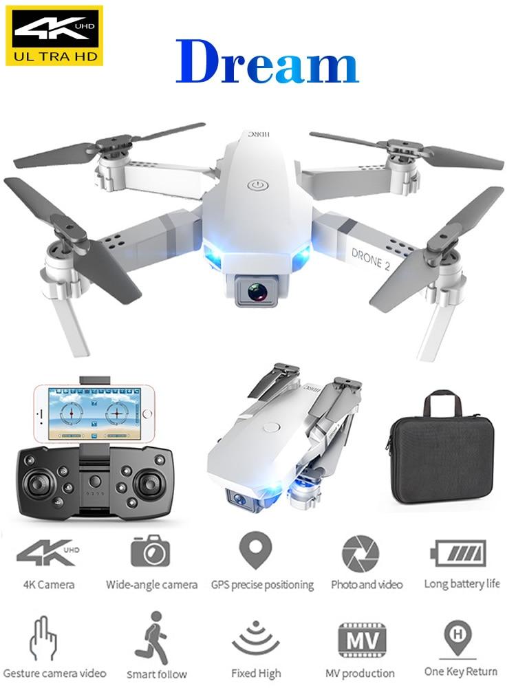 RC Drone Quadcopter Folding Profesional E59 UAV Aerial 4K E58-Upgrade Unmanned Vehicle