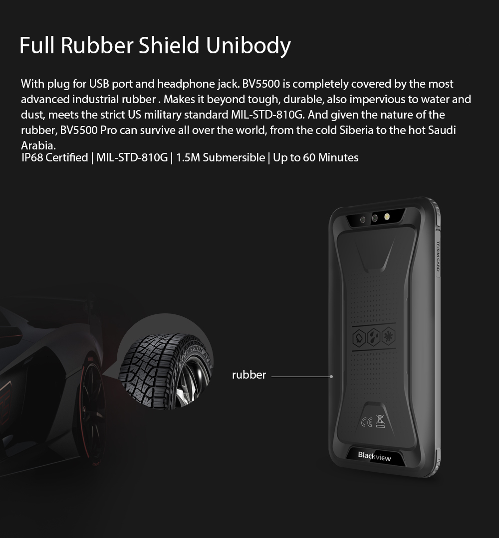 shockproof United core USD 6