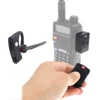 AC-Bherdt-auriculares inalámbricos con Bluetooth, dispositivo de audio PPT manos libres para Baofeng UV-82 UV-5R Radio bidireccional