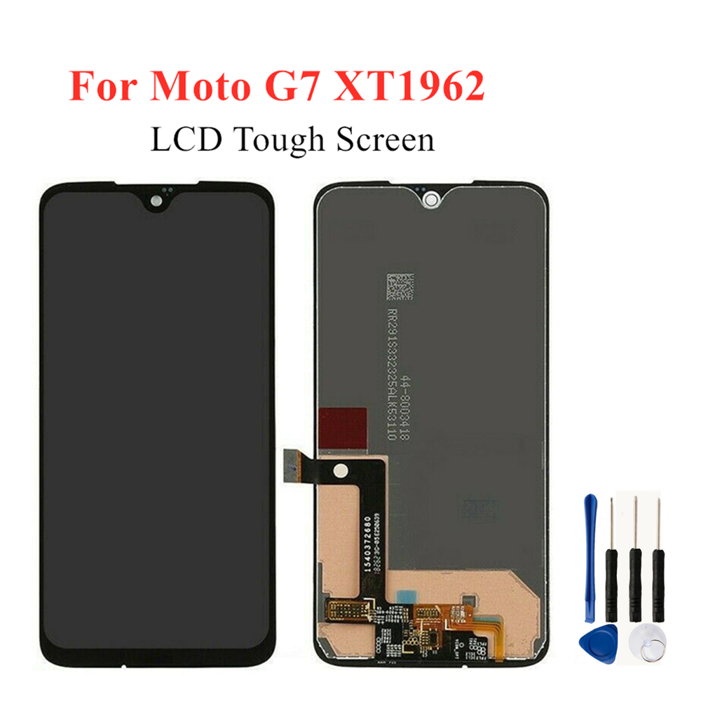 AAA Quality LCD For Motorola MOTO G7 LCD Digitizer Assembly For MOTO <font><b>XT1962</b></font> <font><b>XT1962</b></font>-1 <font><b>XT1962</b></font>-4 LCD Replacement <font><b>Parts</b></font>  image