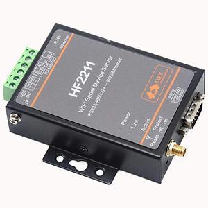Image 5 - واي فاي المسلسل جهاز خادم RS232/RS485/RS422 المنفذ التسلسلي إلى واي فاي محول إيثرنت وحدة HF2211 الاتحاد الأوروبي التوصيل المتاحة
