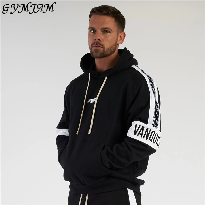 2020 new fashion men's hoodie streetwear brand men's clothing jogger men's fitness sportswear casual hoodies