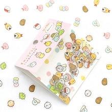 Japanese Stationery Sticker Kawaii Scrapbooking Diary Bear for PVC 80pcs/Bag