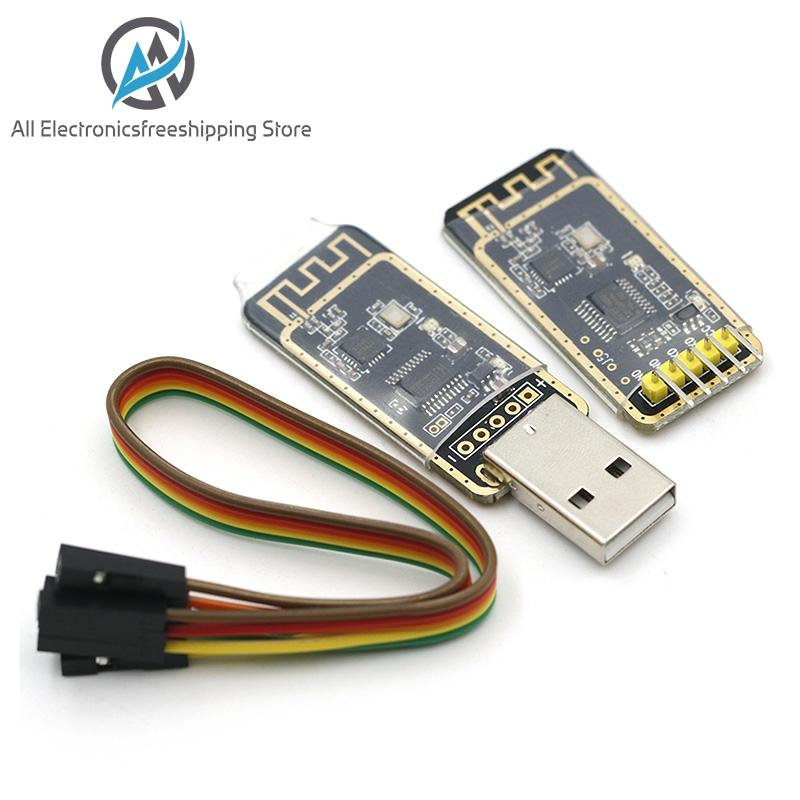 NRF24L01 Wireless Wifi Transceiver + 2.4GHz <font><b>Antenna</b></font> Module <font><b>USB</b></font> to TTL converter UART module CH340G CH340 3.3V <font><b>5V</b></font> switch image