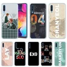 Exo K Pop Baekhyun Case for Samsung Galaxy A50 A20 e A70 A80 A60 A40 A30 A10 s A9 A7 A8 A6 Plus 2018 Silicone Phone Cover Coque(China)