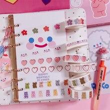 Корейский облачный смайлик маскирующая васи лента DIY декоративная клейкая лента для дневник в стиле Скрапбукинг Украшение кавайные канцелярские принадлежности